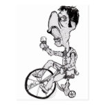 Slow Rider Postcard