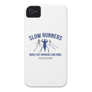 Slow Runners iPhone 4 Cases
