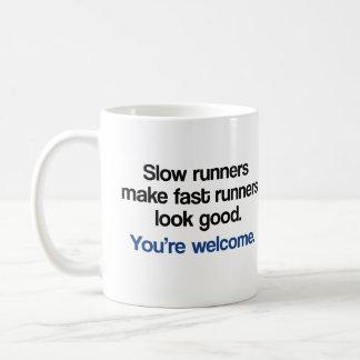 Slow Runners Classic White Coffee Mug