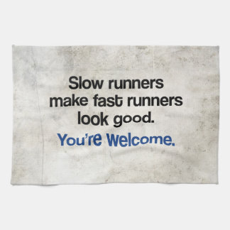 Slow Runners Towel