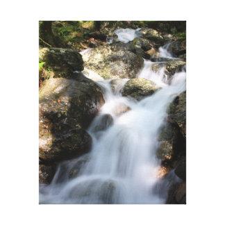 Slow Shutter Waterfall Canvas Print