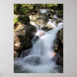 Slow Shutter Waterfall Poster