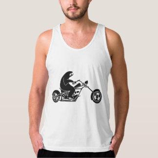 Slow Sloth On A Fast Bike Tank Top