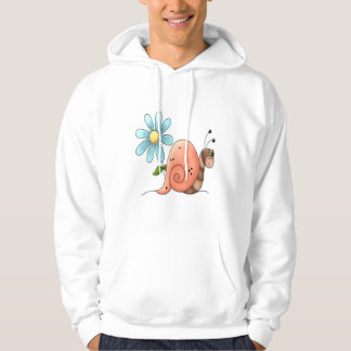 slow snail hoodie
