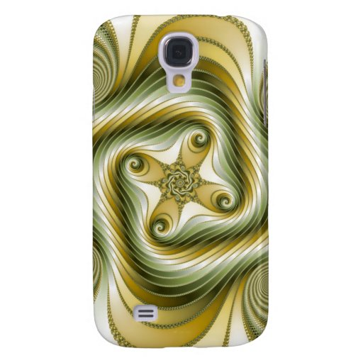 Slow Spin - Fractal Art Samsung Galaxy S4 Cases