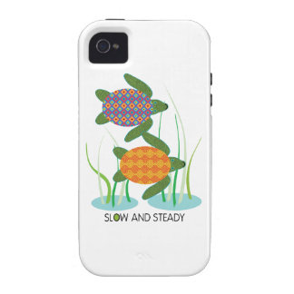 Slow & Steady Vibe iPhone 4 Cases