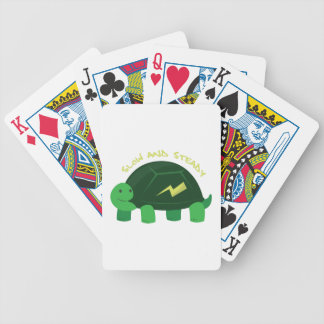Slow & Steady Bicycle Playing Cards