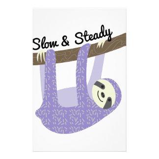 Slow & Steady Personalized Stationery