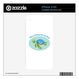 Slow & Steady Wins The Race iPhone 4S Skins