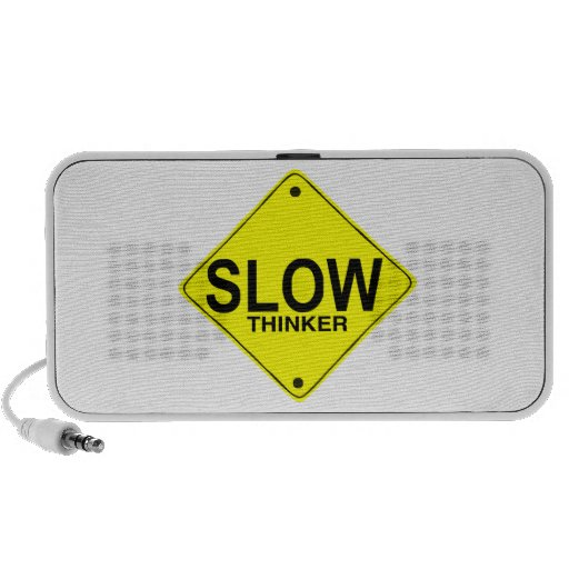 Slow Thinker Notebook Speaker