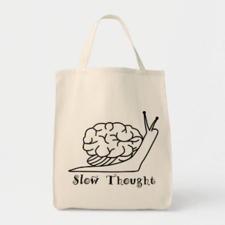 Slow Thought Tote Bag