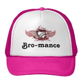 Slow-White logo, Bro-mance Trucker Hat