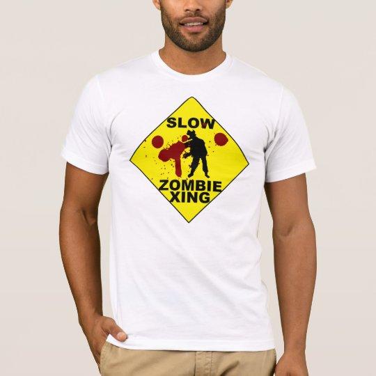 Slow Zombie Xing T-Shirt