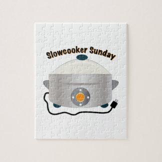 Slowcooker domingo rompecabezas con fotos