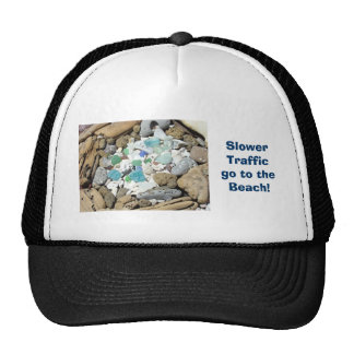 Slower Traffic go to the Beach! Sports hats nature