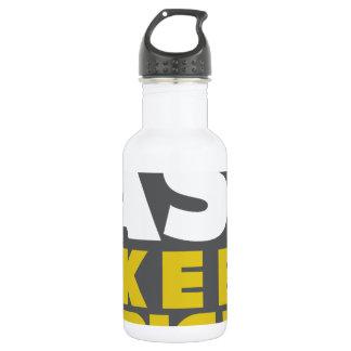 Slower Traffic Keep Right 18oz Water Bottle