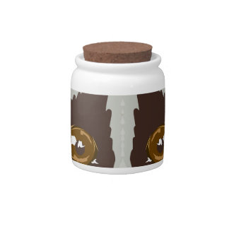 SlowLorisSketchL Candy Jar