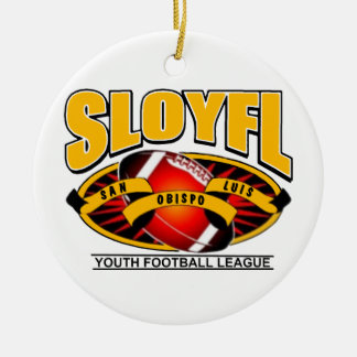 SLOYFL CERAMIC ORNAMENT