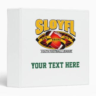 SLOYFL Logo 3 Ring Binder