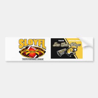 SLOYFL Logo Car Bumper Sticker