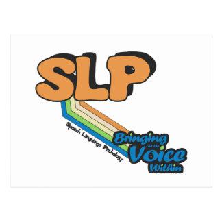SLP que pone en evidencia la voz dentro Postales