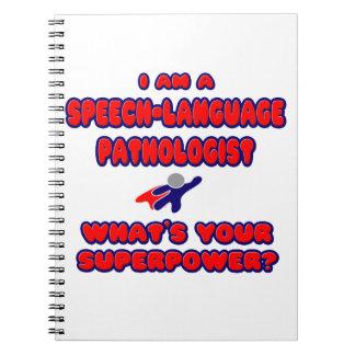 SLP .. What's Your Superpower? Spiral Notebook