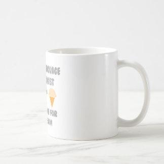 SLP ... Will Work For Ice Cream Coffee Mug