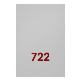 SLR 722 POSTERS