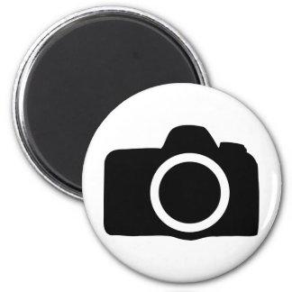 SLR Camera icon 2 Inch Round Magnet