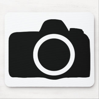 SLR Camera icon Mouse Pad