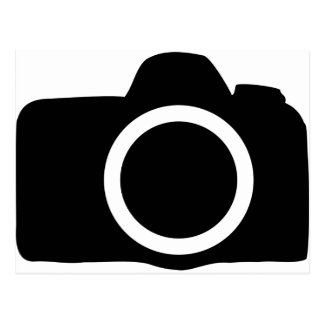 SLR Camera icon Postcard