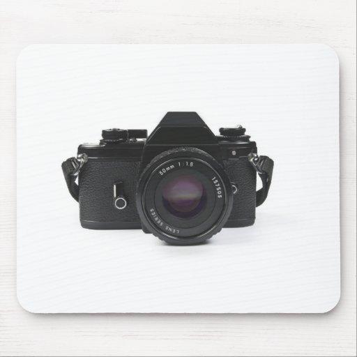 slr photo camera - classic design mouse pad