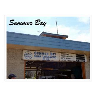 slsc de la bahía del verano tarjeta postal