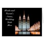 SLTemple-WeddingThankYou-Customizable Greeting Card