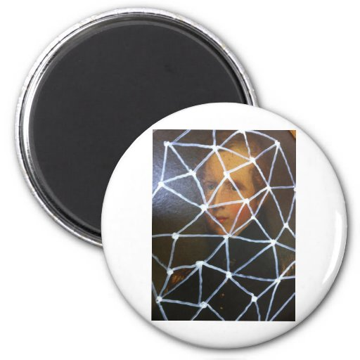 sludge goth by sludge 2 inch round magnet
