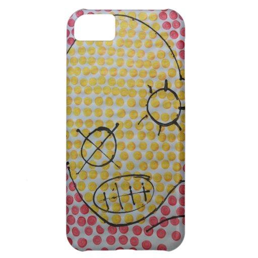 sludge pop face by sludge iPhone 5C covers