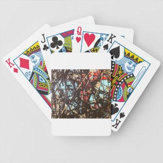 sludge splat by sludge bicycle playing cards
