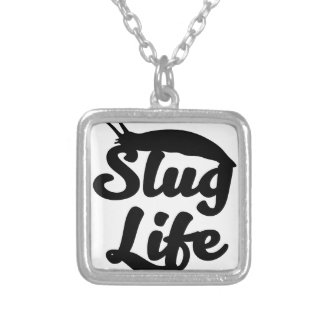 Slug Life Silver Plated Necklace