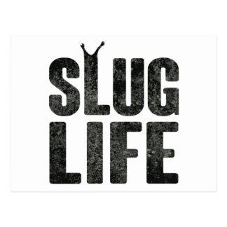 Slug Life Thug Life Postcard