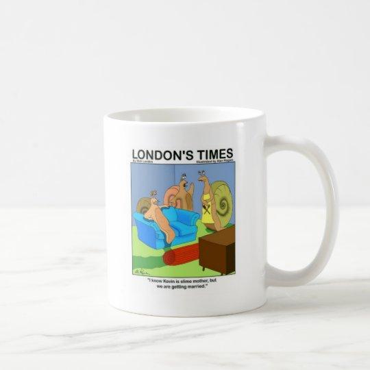 Slug Marrying Slime Funny Gifts Tees & Collectible Coffee Mug
