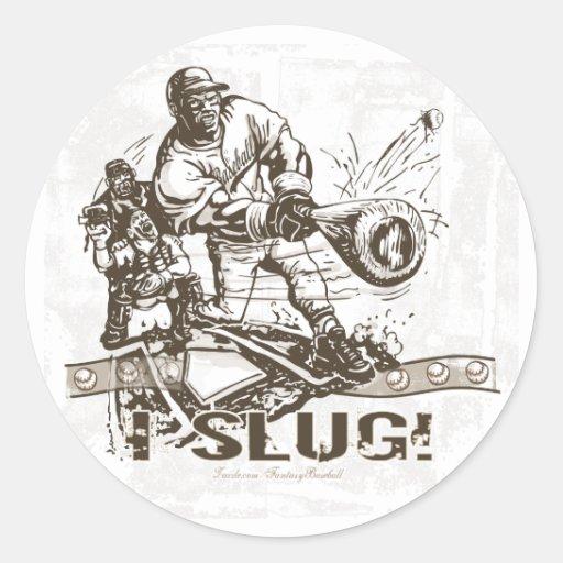 ¡Slug! Pegatina