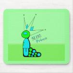 Slug prince mouse pads
