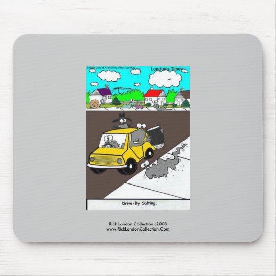 Slug/Snail Funny Cartoon Quality Mouse Pad