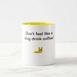 slug Two-Tone coffee mug
