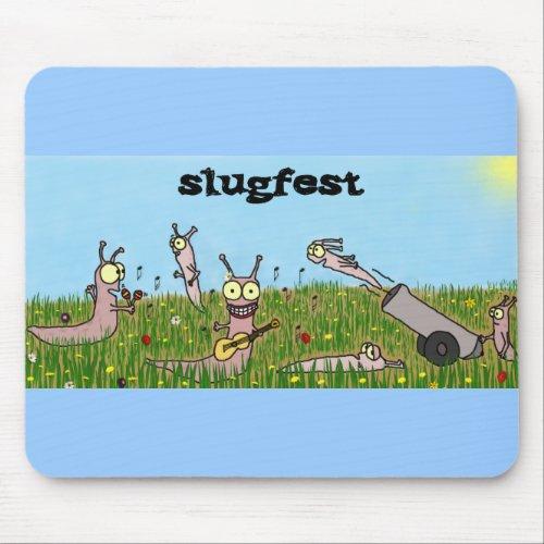 Slugfest Mousepad mousepad