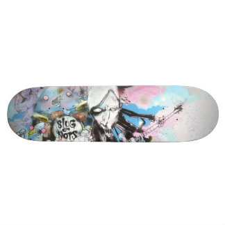Slugganauts SK8 Custom Skateboard