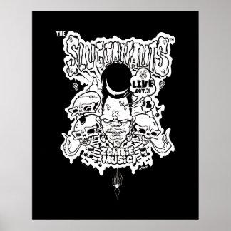 Slugganauts Zombie Print
