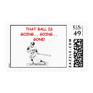 slugger postage stamp
