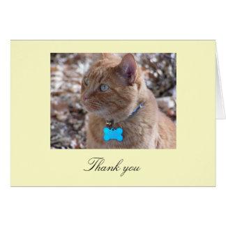 Slugger thank you card
