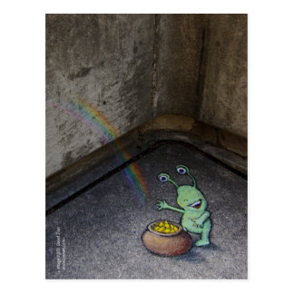 sluggo's pot of gold postcard